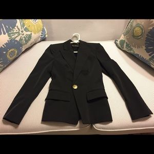 New Versace Blazer in Black/Size Small